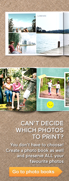 Cherish your memories forever with a personalised photo book