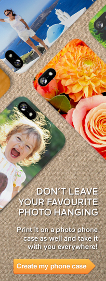 Take your favourite photo with you everywhere on a personalised photo phone case
