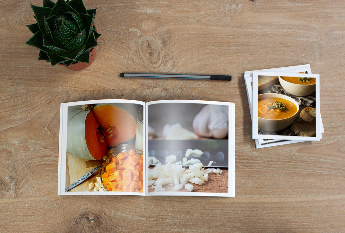 food photo book ideas