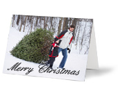 Albelli inspiration Christmas card